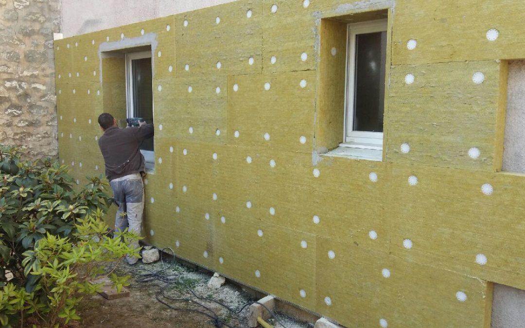 Isolation mur exterieur