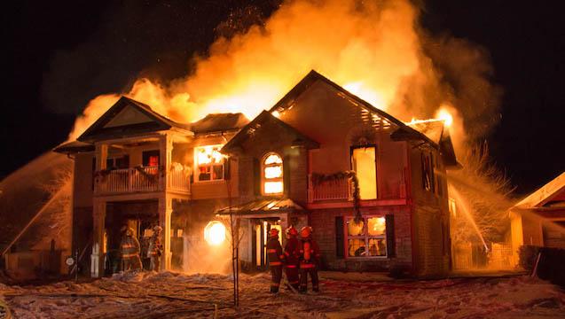 Incendie propriété